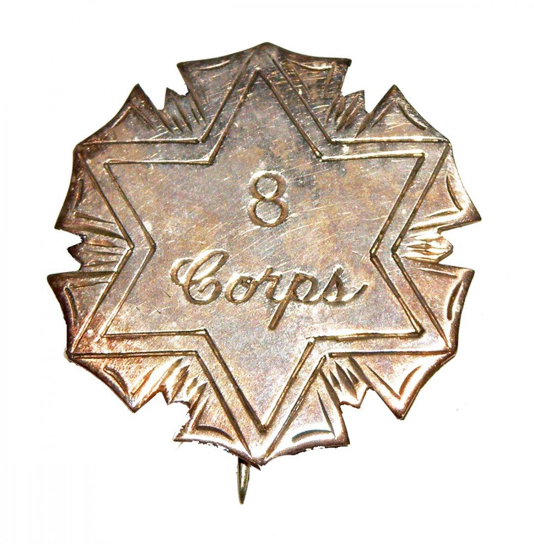 95: 8TH CORPS BADGE