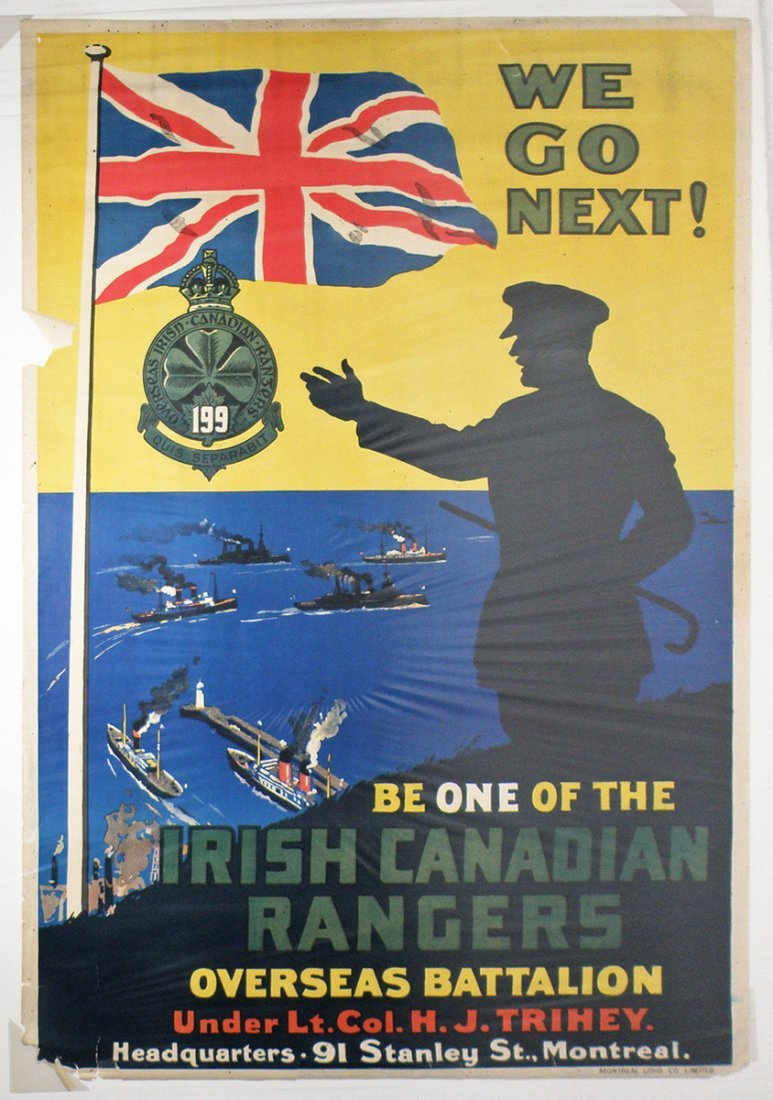 255: CANADIAN WWI RECRUITING POSTER