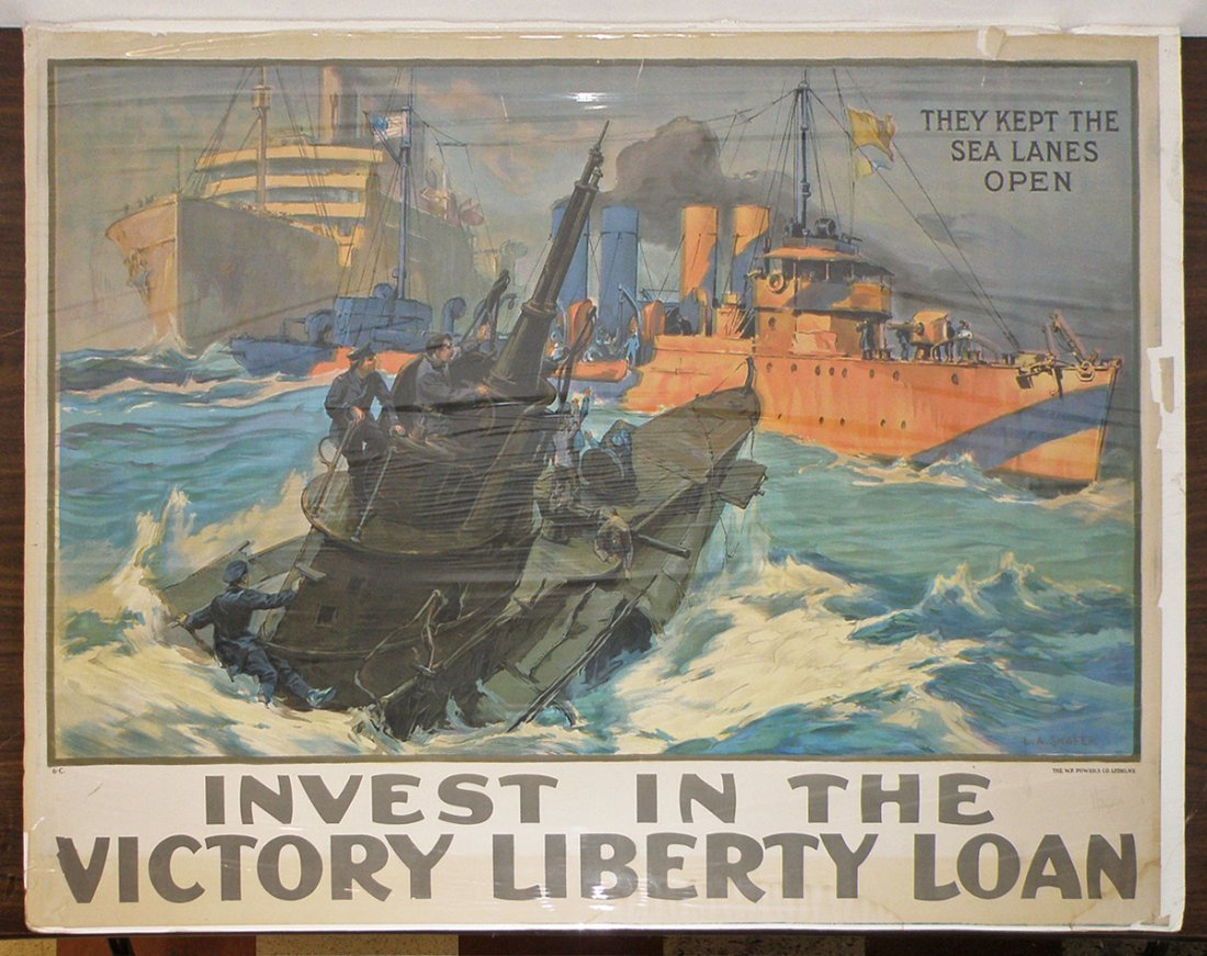 263: WWI LIBERTY LOAN POSTER