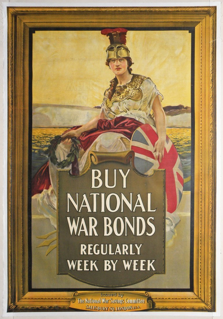265: ENGLISH WWI WAR BONDS POSTER