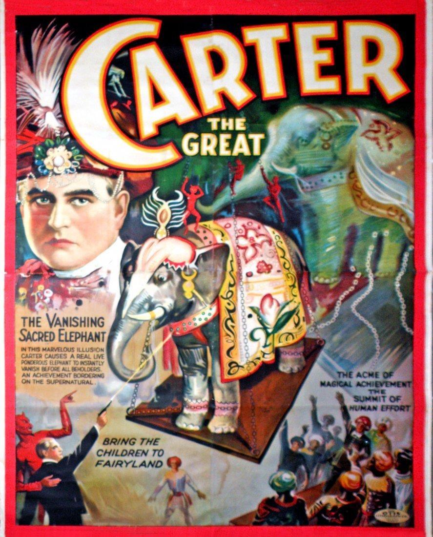 567: CARTER THE GREAT VANISHING SACRED ELEPHANT MAGIC P