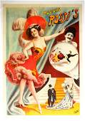 589 ROSSIS MUSICAL COMEDY ACT POSTER