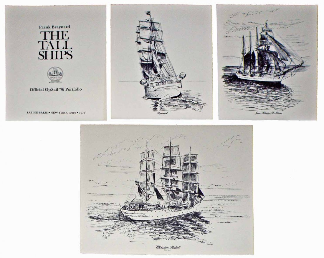 BOXED TALL SHIPS PORTFOLIO
