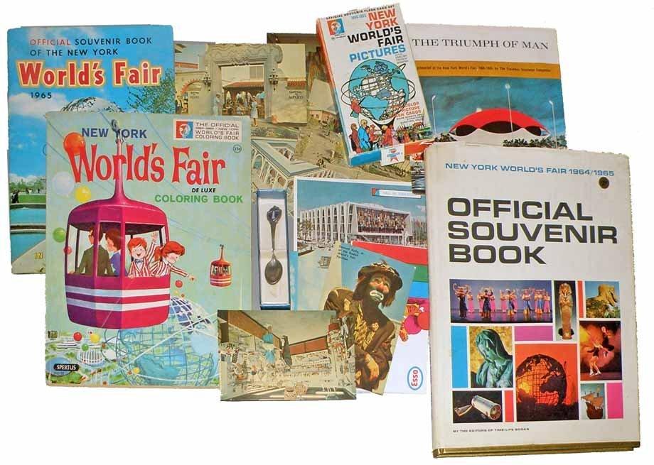 1964 NEW YORK WORLD'S FAIR ITEMS