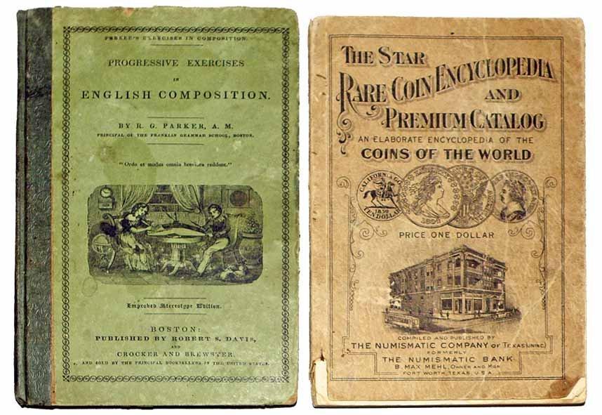TWO INTERESTING AMERICAN BOOKS