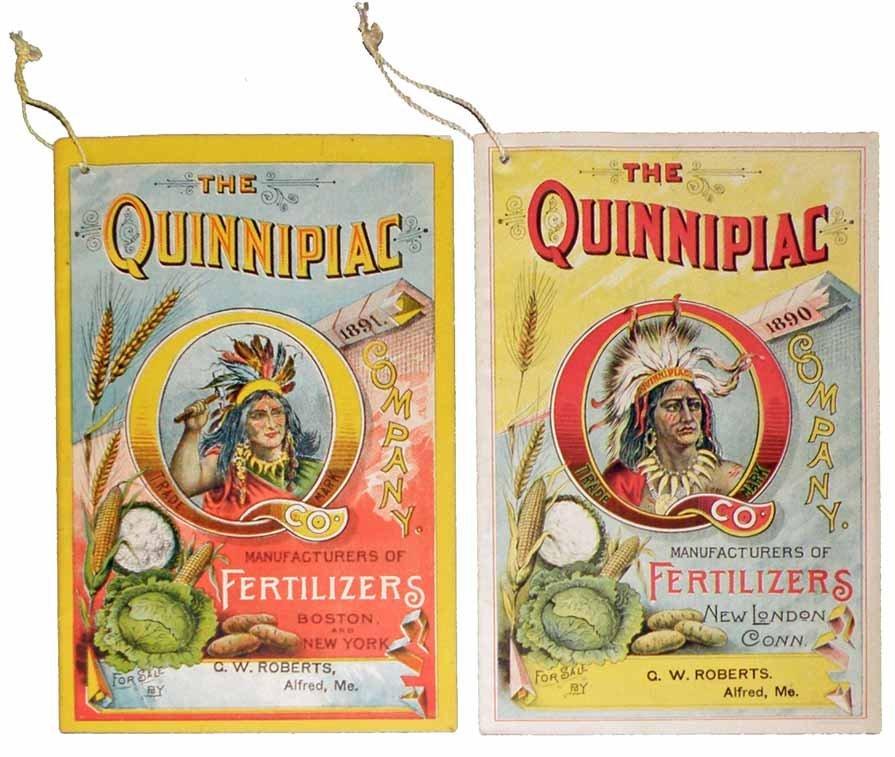 TWO QUINNIPIAC COMPANY ADVERTISITNG BROCHURES