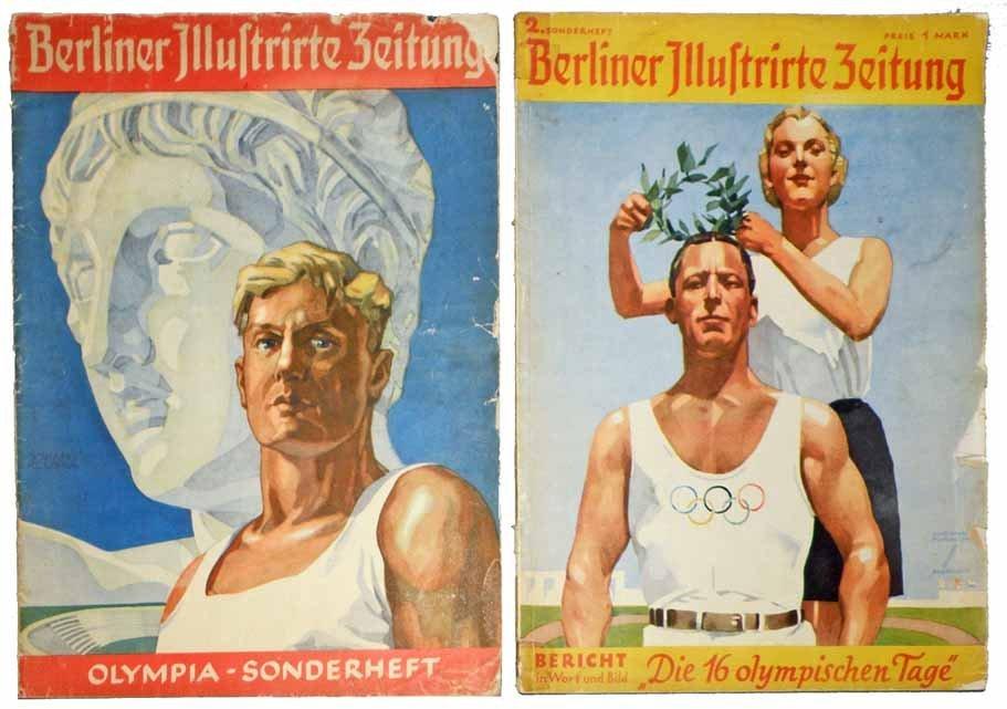 TWO GERMAN 1936 OLYMPIC PROGRAMS