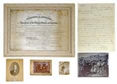EXTRAORDINARY 19TH CENTURY ARCHIVE OF INDIAN AGENT SAMU