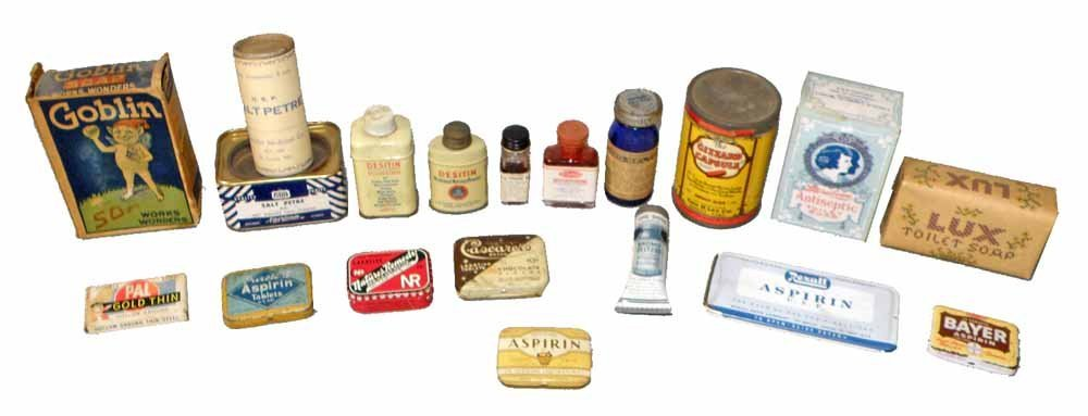 NINETEEN COUNTRY STORE MEDICAL RELATED ITEMS