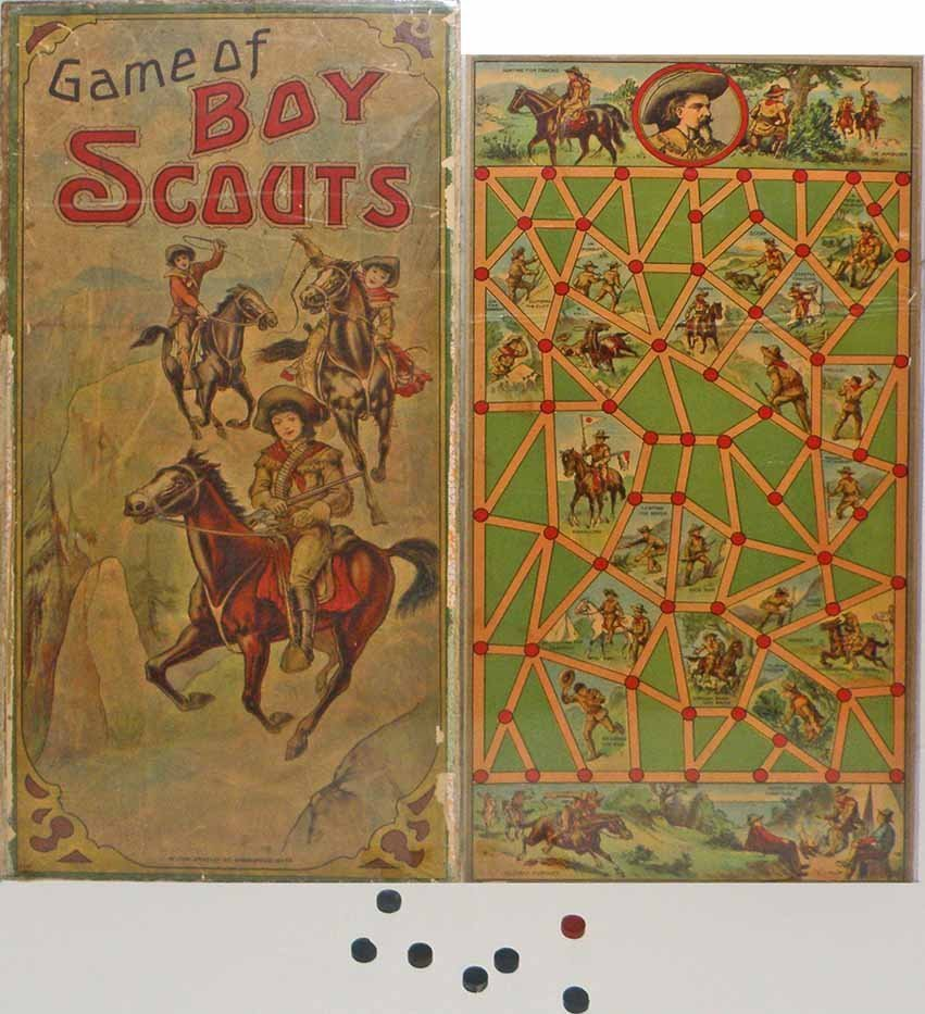 MILTON BRADLEY GAME OF BOY SCOUTS