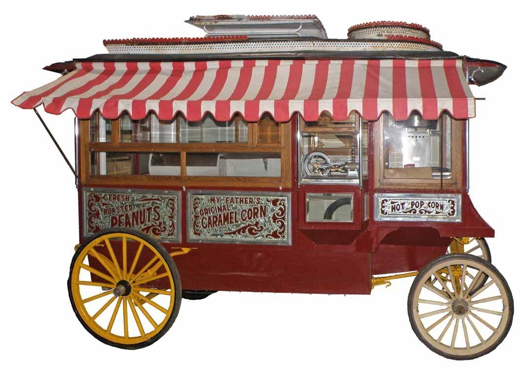 cretors popcorn machine