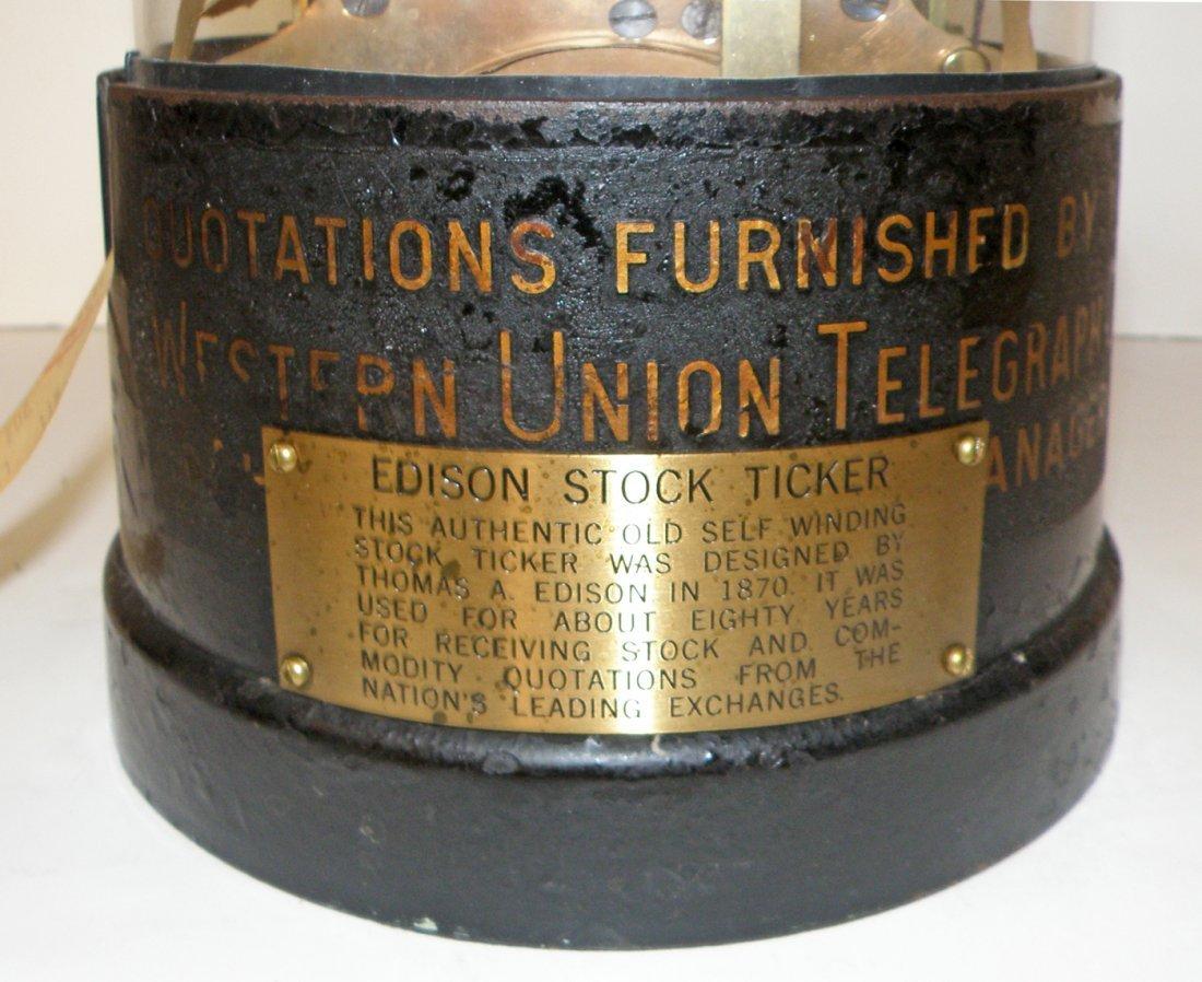 WESTERN UNION STOCK TICKER TAPE MACHINE - 2