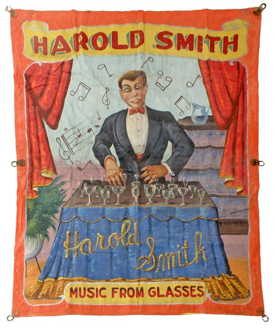 HAROLD SMITH - MUSIC FROM GLASSES BANNER