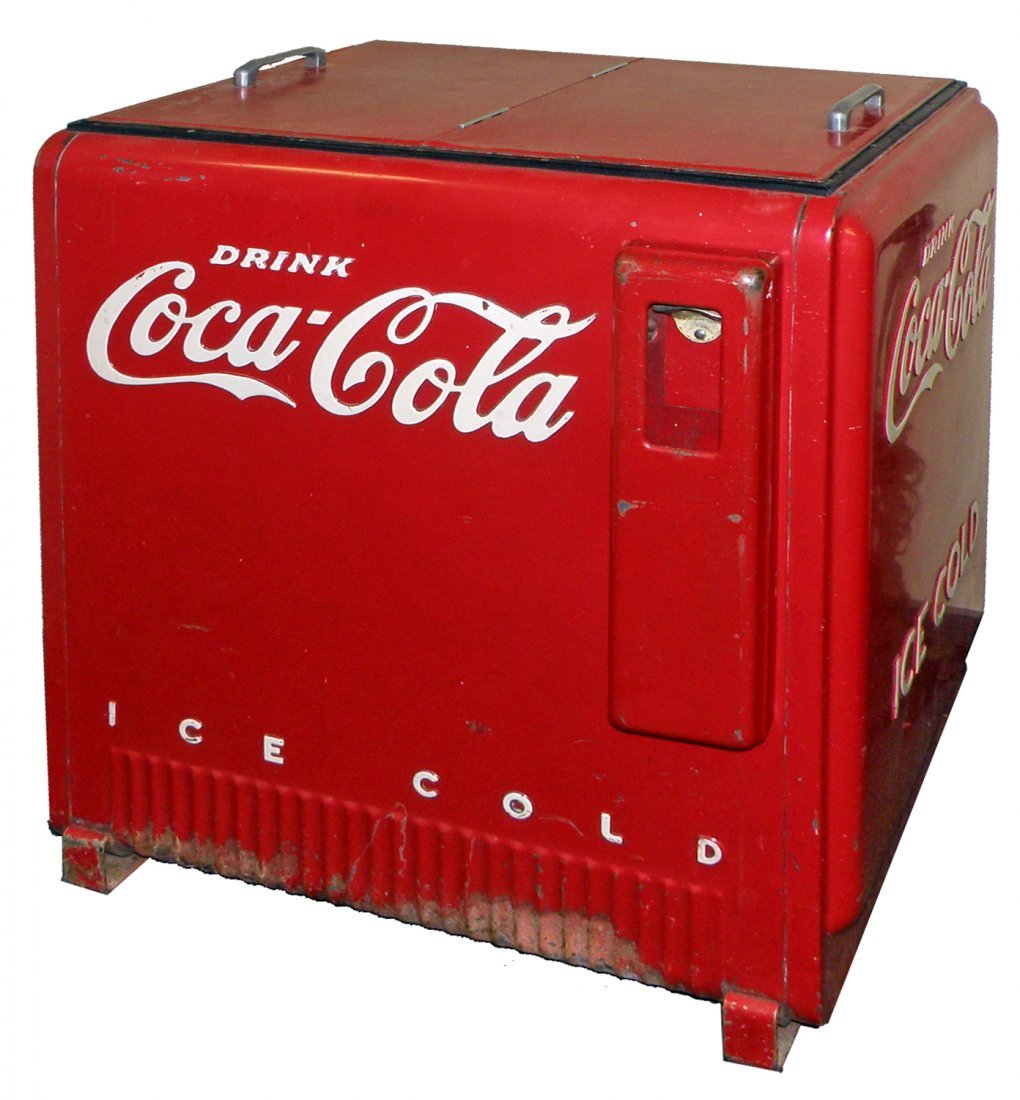 1938 COCA COLA COOLER BY WESTINGHOUSE