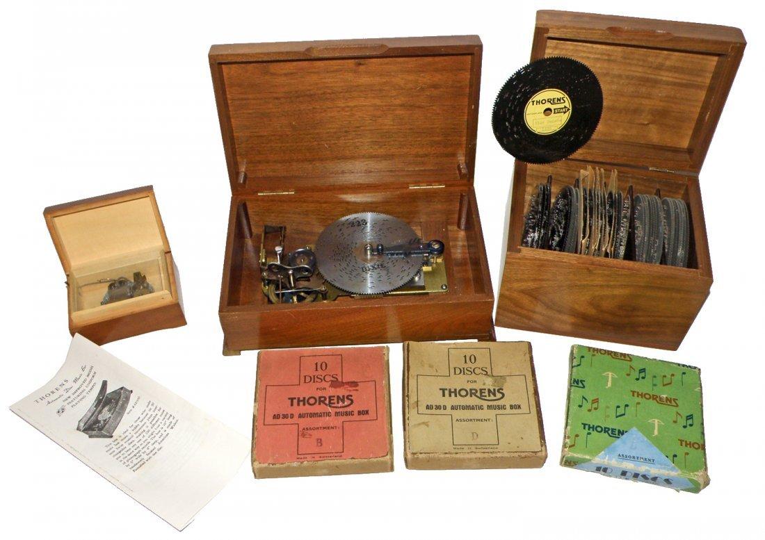 THORENS DISC MUSIC BOX