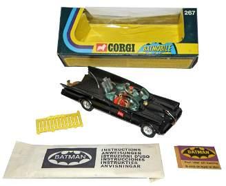 A BOXED CORGI NUMBER 267 BATMOBILE