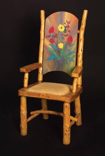 556: Wildflower Chair by Ken Siggins