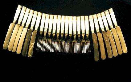 2: Matching Cowboy Ranch Cutlery 12 Knives &
