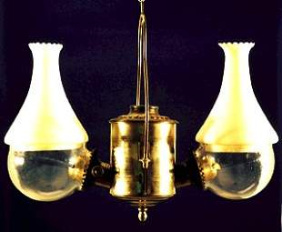 Old West Saloon Style LAMP All original, 2