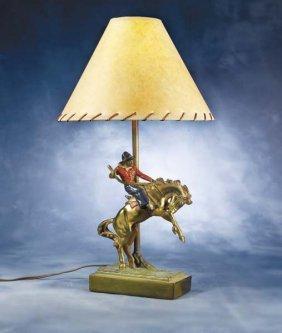 3: Bucking Horse Lamp