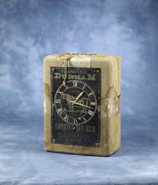 4: Rare Bull Durham Advertising Clock