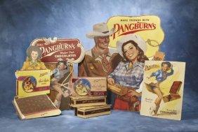 14: Pangburn's Chocolates Cowboy and Cowgirl Store Disp