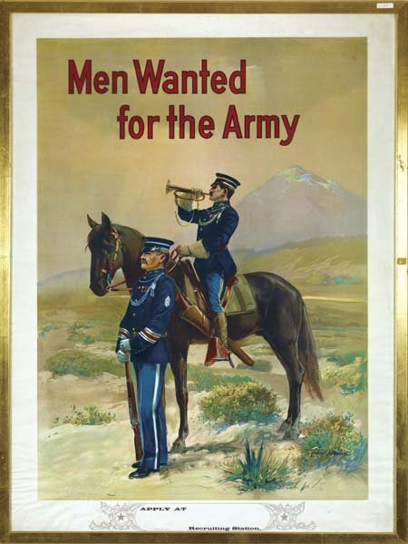 24: Lithograph Poster for the U.S. Army