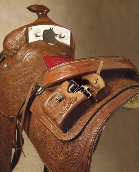 29: Walt Goldsmith Saddle - 2