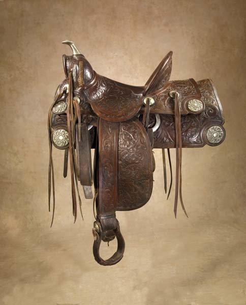 229: Impressive Fred Mueller Saddle