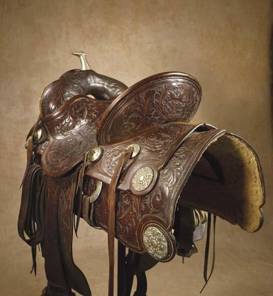 229: Impressive Fred Mueller Saddle - 2