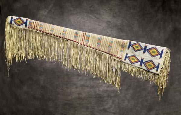 305: Cheyenne River Sioux Beaded & Quilled Rifle Scabba