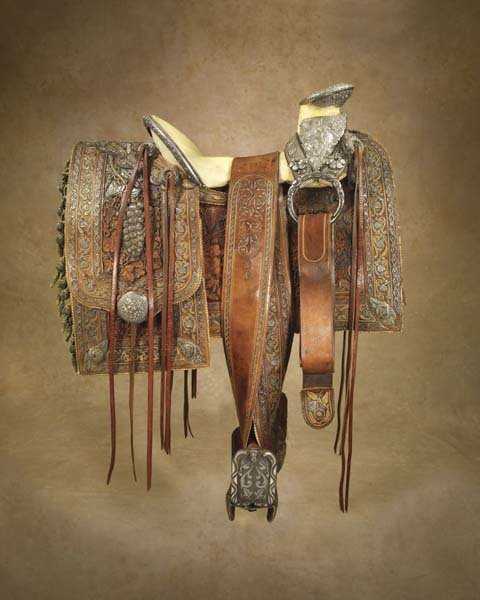 336: Fabulous 1870s Mexican Saddle