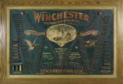 """343: Winchester Double """"W"""" Cartridge Board"""