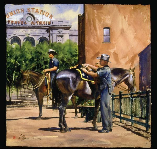 1: William Matthews Denver Mounted Patrol Poster