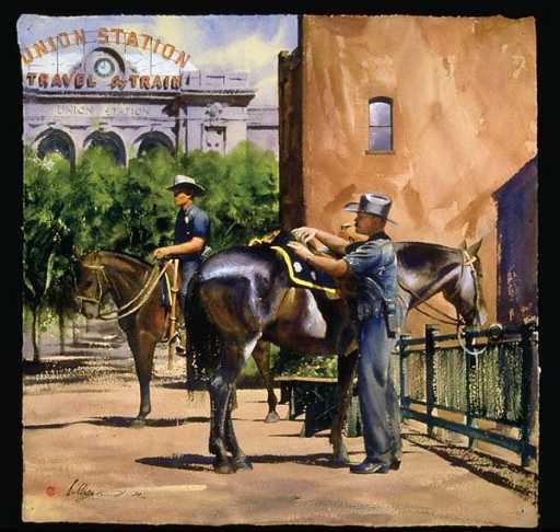 1: William Matthews Denver Mounted Patrol Poster