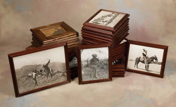 8: 68 Framed Decorative Photographs from the Ranchers C
