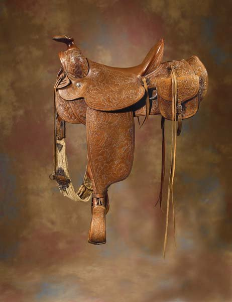 22: D. E. Walker / Visalia Saddle