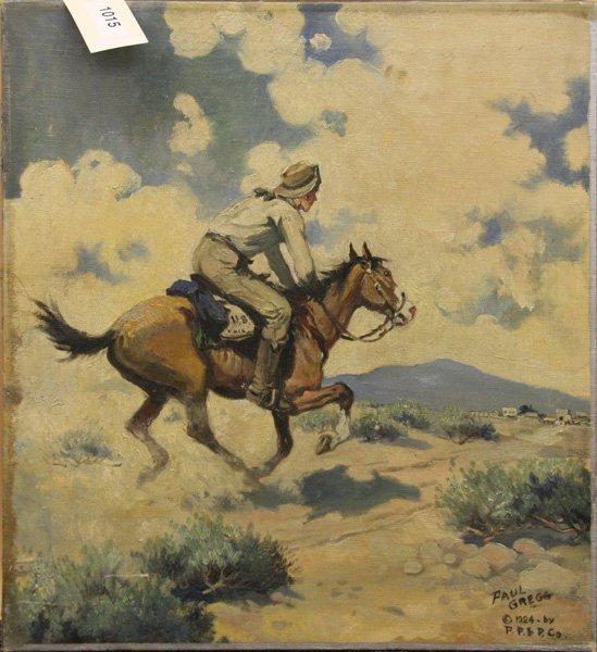 1015: Paul Gregg (1879-1949)