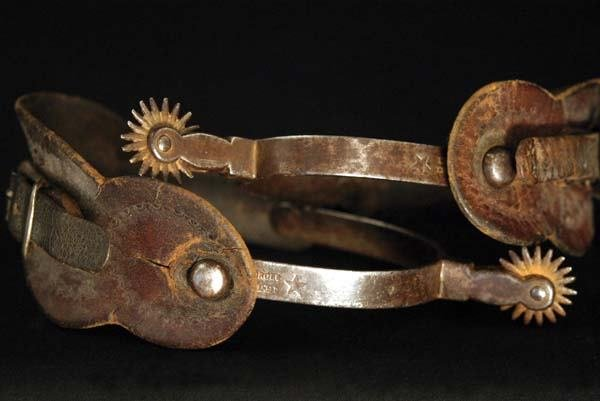 1: A. Buermann 1880s Spurs