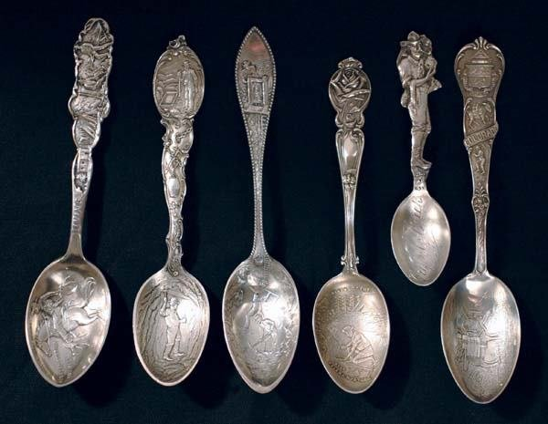 8: Six Mining Related Spoons