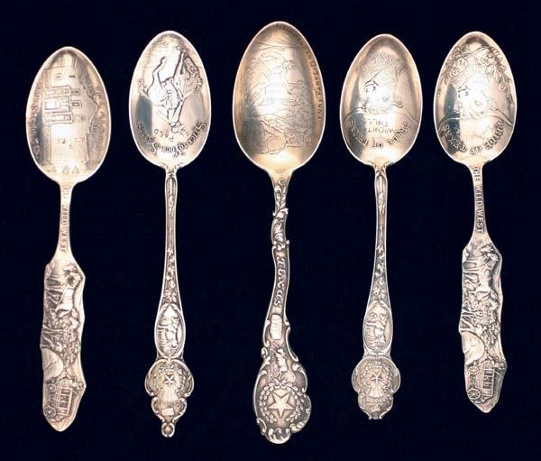 "10: Five  ""Texas"" Spoons"