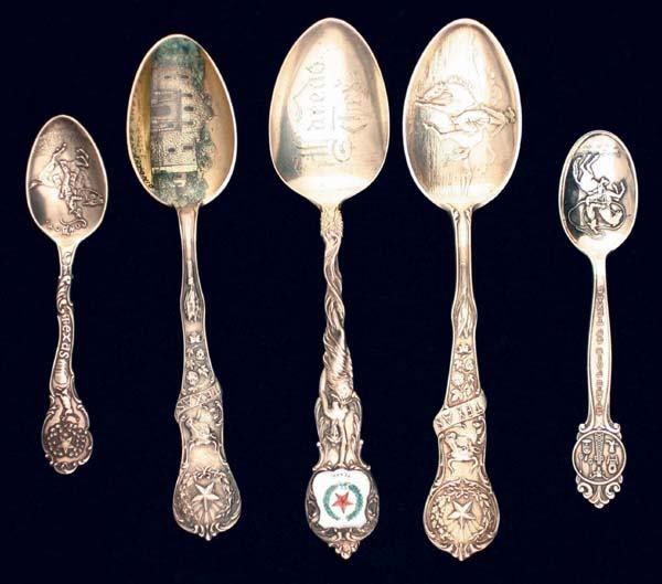 "12: Five ""Texas"" Spoons"