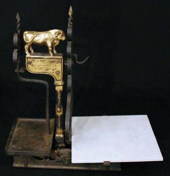 18: Impressive 19th Century Butcher Scale