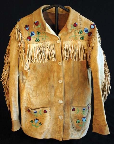 21: Beaded and Fringed Jacket
