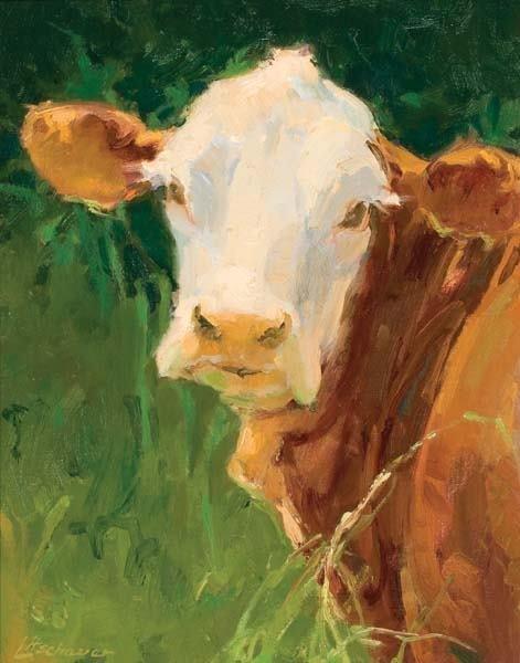 470: Mimi Lischauer Oil Painting