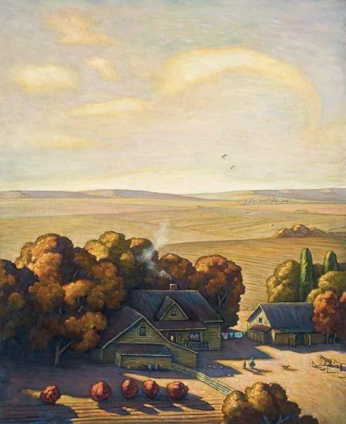 471: Howard Post (b 1948) Painting