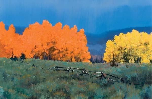 473: Tye Barhaug (b 1963) Painting