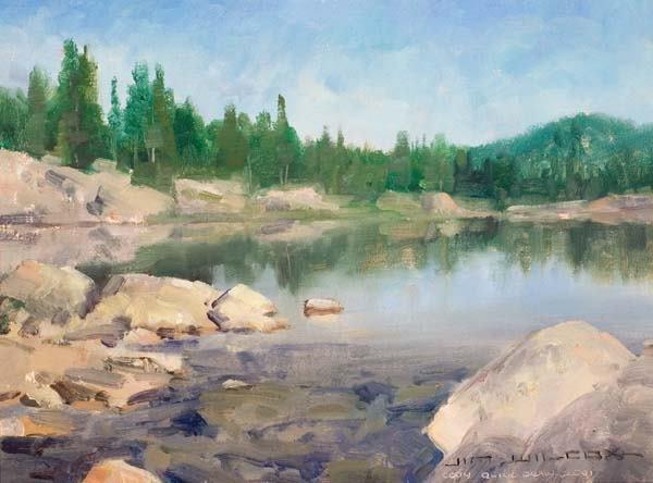 474: Jim Wilcox (b 1941) Painting