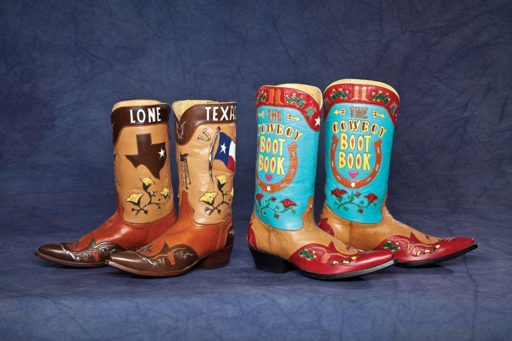 6: Two Pair of Fine Custom-order Rocket Buster Boots