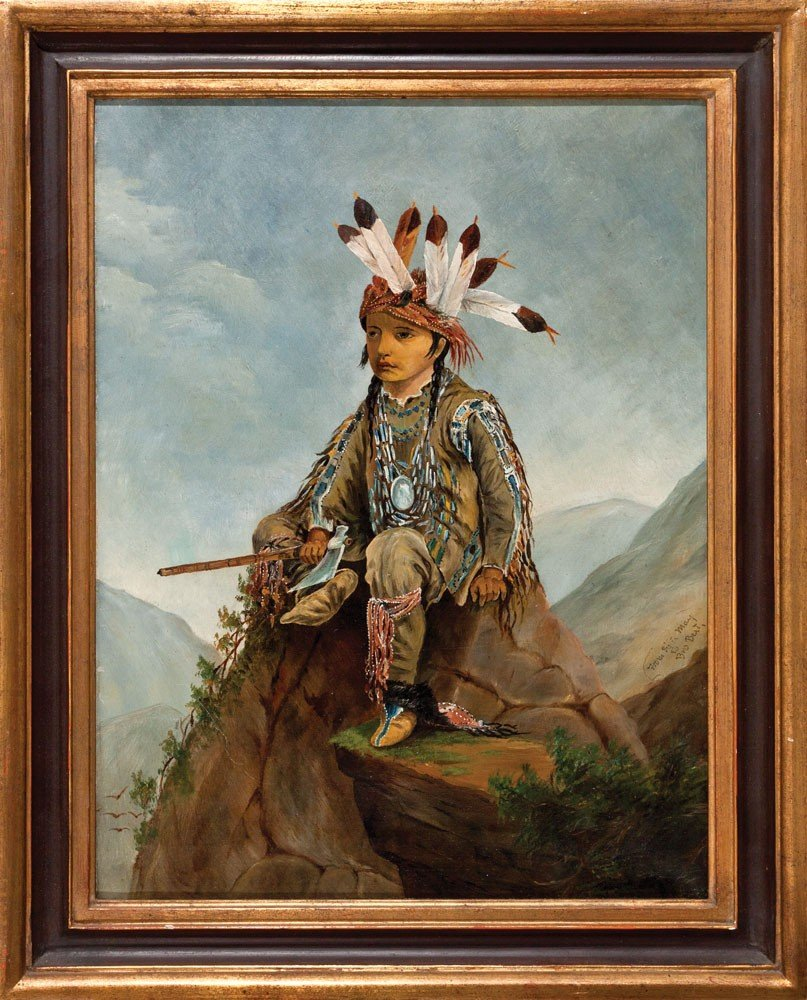 20: May Dillingham Folk Art Indian